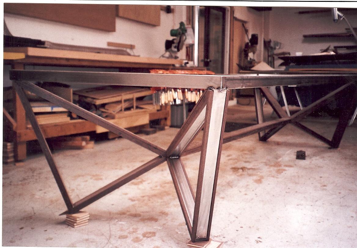 metal furniture a